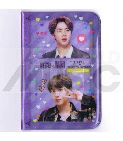 Porte carte Jin (BTS) + 18 cards