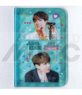 Porte carte Jungkook (BTS) + 18 cards