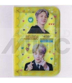 Porte carte Jimin (BTS) + 18 cards