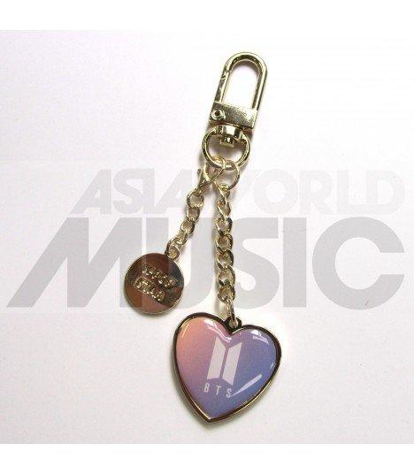 BTS - Porte-clés Coeur (Couleur)