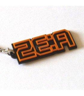 Strap avec lettrage en 3D ZE:A