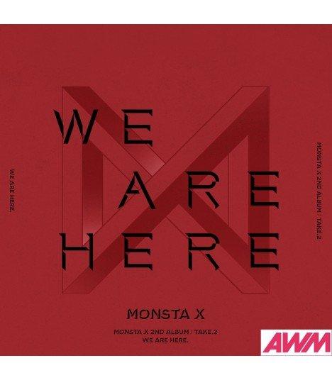 Monsta X (몬스타엑스) Vol. 2 TAKE.2 - WE ARE HERE (édition coréenne)