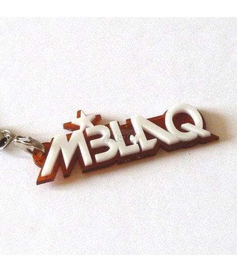 Strap avec lettrage en 3D MBLAQ 002