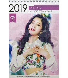 DAHYUN (TWICE) - Calendrier de bureau 2019 / 2020 (Type A)