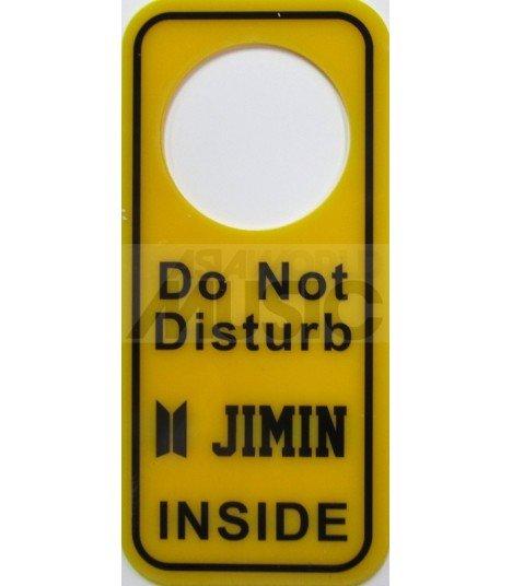 JIMIN (BTS NEW LOGO) - Pancarte Do Not Disturb JIMIN INSIDE