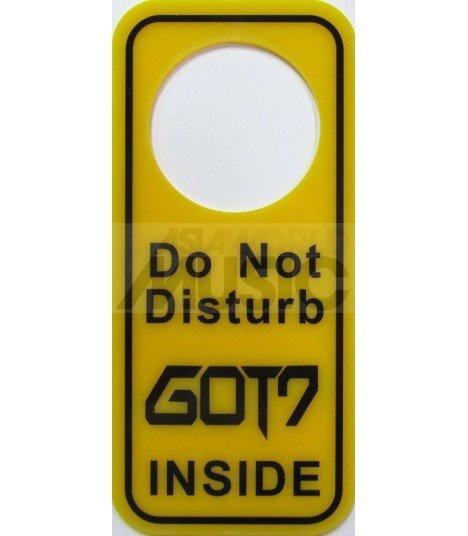GOT7 - Pancarte Do Not Disturb GOT7 INSIDE (type B)