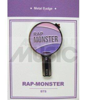 RM LIGHT STICK (BTS) - Pin's métal (Import Corée)
