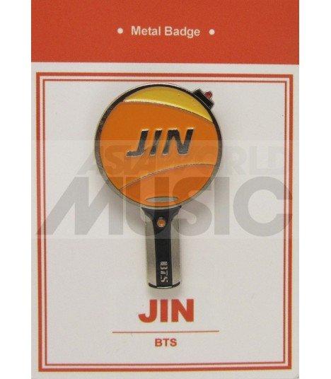 JIN LIGHT STICK (BTS) - Pin's métal (Import Corée)