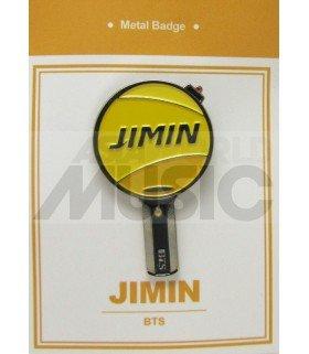 JIMIN LIGHT STICK (BTS) - Pin's métal (Import Corée)