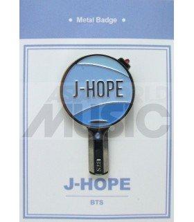 J-HOPE LIGHT STICK (BTS) - Pin's métal (Import Corée)
