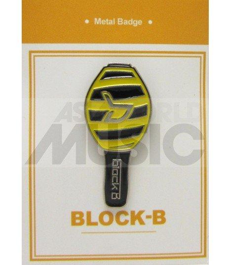 BLOCK B LIGHT STICK - Pin's métal (Import Corée)
