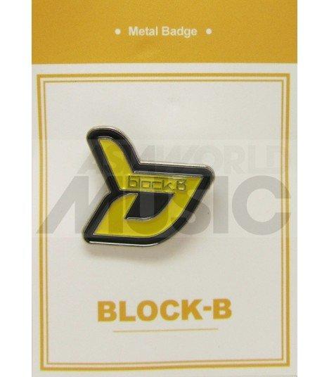 BLOCK B - Pin's métal (Import Corée)