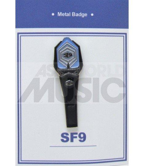 SF9 LIGHT STICK - Pin's métal SF9 Logo (Import Corée)