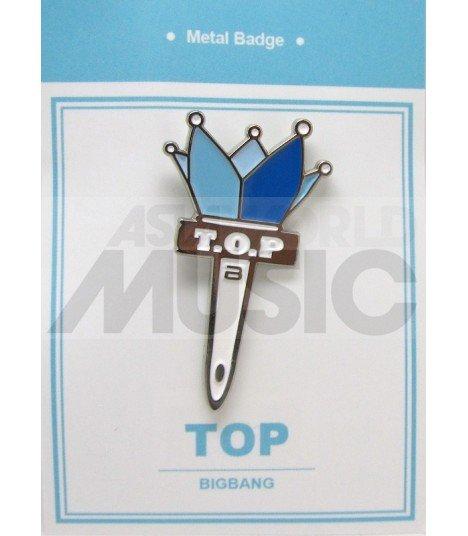 T.O.P LIGHT STICK (BIGBANG) - Pin's métal (Import Corée)