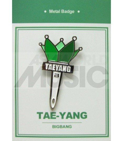 TAEYANG LIGHT STICK (BIGBANG) - Pin's métal (Import Corée)