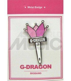 G-DRAGON LIGHT STICK (BIGBANG) - Pin's métal (Import Corée)