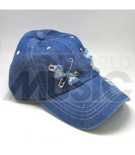 Casquette Ballcap Denim épingle (DARK BLUE)