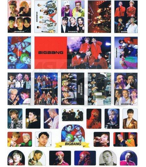 BIGBANG - Set de stickers 009