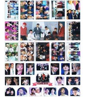 BTS - Set de stickers 018