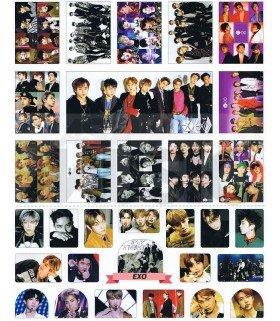 EXO - Set de stickers 013