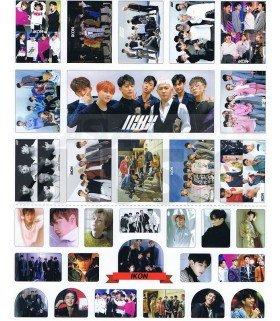 iKON - Set de stickers 010
