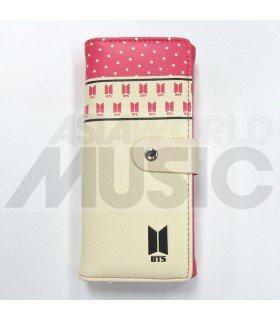 BTS - Portefeuille New logo (Pink)
