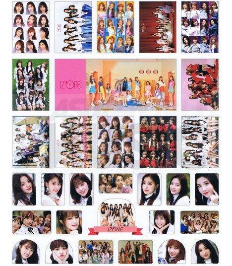 IZ*ONE - Set de stickers 001