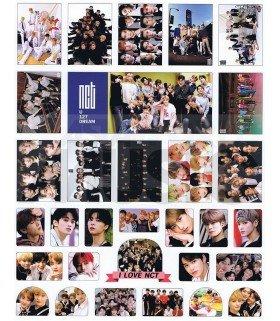 NCT - Set de stickers 004