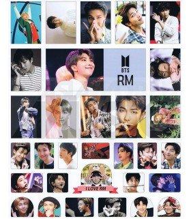 BTS - Set de stickers RM (RAP MONSTER) 004