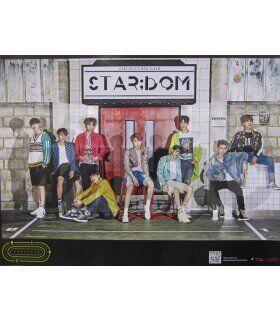 Affiche officielle UP10TION - Stardom (Version A)