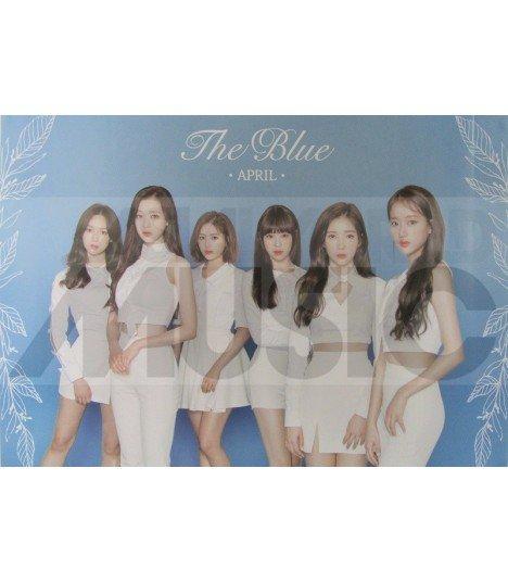 Affiche officielle APRIL - The Blue