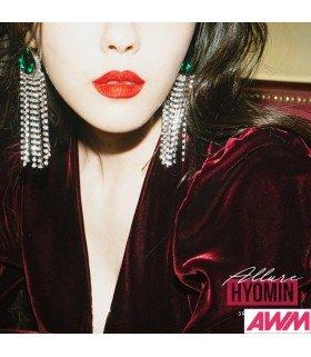 Hyomin (효민) Mini Album Vol. 3 - ALLURE (édition coréenne)