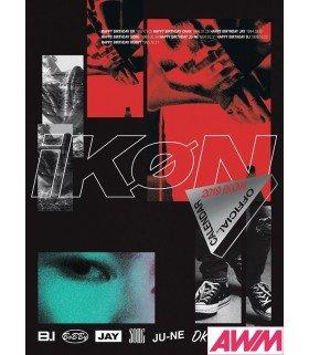 iKON (아이콘) Official Calendar 2019 (édition coréenne)