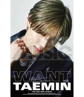 Affiche officielle Taemin - WANT (Version WANT)