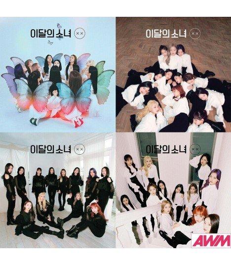 LOONA (이달의 소녀) Mini Album Repackage - X X (édition coréenne) -  Asiaworldmusic fr - Site de vente en ligne des magasins MUSICA
