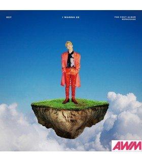 KEY (키) Vol. 1 Repackage - I Wanna Be (édition coréenne)