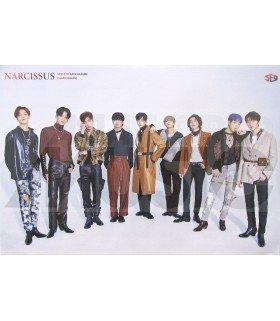 Affiche officielle SF9 - Narcissus (Poster TEMPTATION)