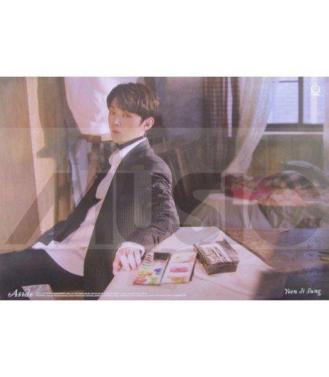 Affiche officielle YOON JISUNG - Aside (Version BANG)