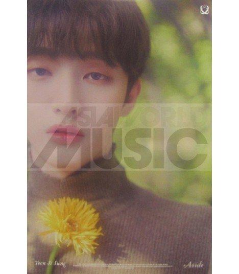 Affiche officielle YOON JISUNG - Aside (Version BAEK)