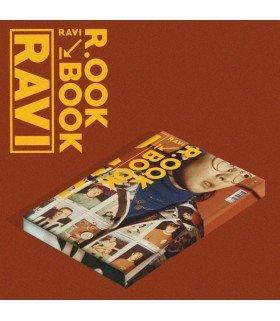 RAVI (라비) Mini Album Vol. 2 - R.OOK BOOK (Kihno Album) (édition coréenne)