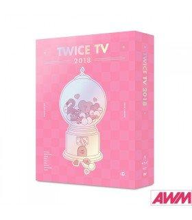 TWICE (트와이스) TWICE TV 2018 (4DVD) (édition coréenne)
