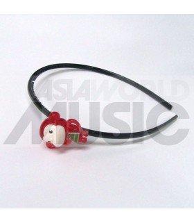 Serre-tête singe (rouge)