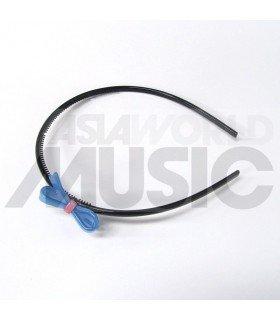 Serre-tête nœud (bleu)