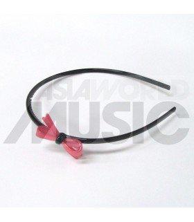 Serre-tête nœud (rose)