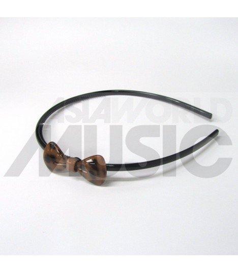 Serre-tête nœud (marron)