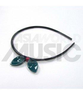 Serre-tête ruban (turquoise)