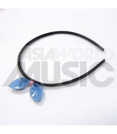 Serre-tête ruban (bleu)