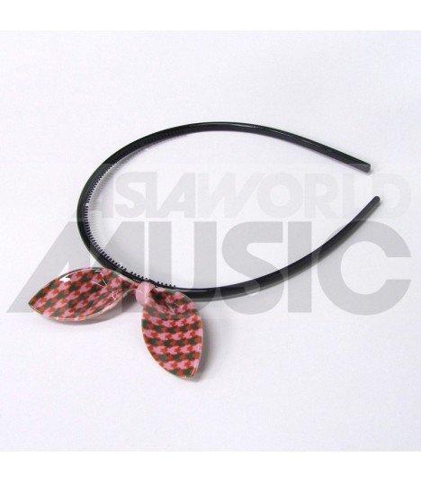 Serre-tête gros ruban (Modèle tricolore 001)