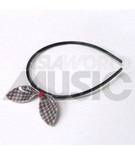 Serre-tête gros ruban (Modèle tricolore 002)
