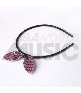 Serre-tête gros ruban (Modèle tricolore 003)